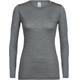 Icebreaker Sphere Longsleeve Shirt Women grey